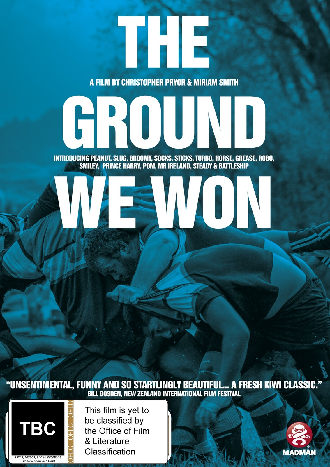 The Ground We Won on DVD image