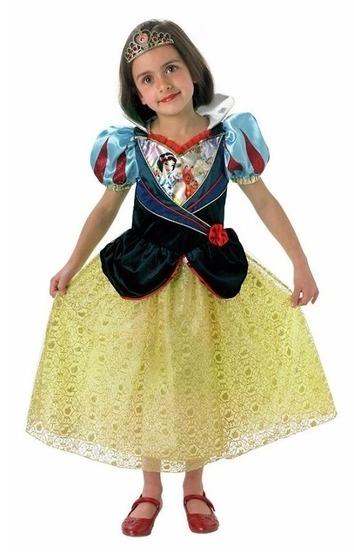 Disney: Kids Snow White Shimmer Dress - (Medium) image