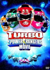 Turbo - A Power Rangers Movie on DVD