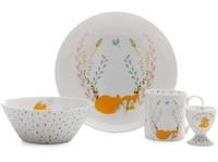 Maxwell & Williams Cashmere - Forest 4 Piece Breakfast Set