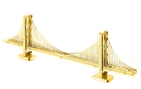 Metal Earth: Golden Gate Bridge (Gold) - Model Kit