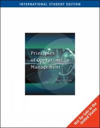 Principles of Operation Management: With Infotrac by Amitabh Raturi