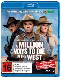A Million Ways to Die in the West on Blu-ray, UV