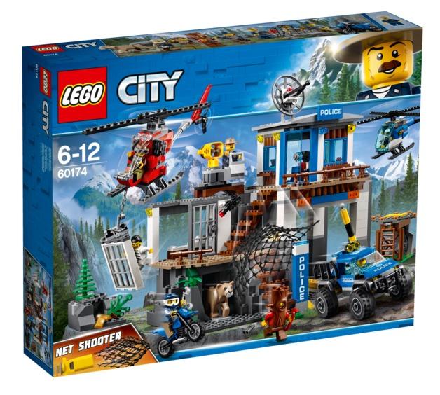 LEGO City: Mountain Police Headquarters (60174)