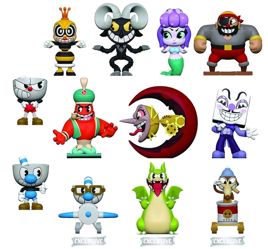 Cuphead - Mystery Minis Figure [Hot Topic Ver ] (Blind Box)