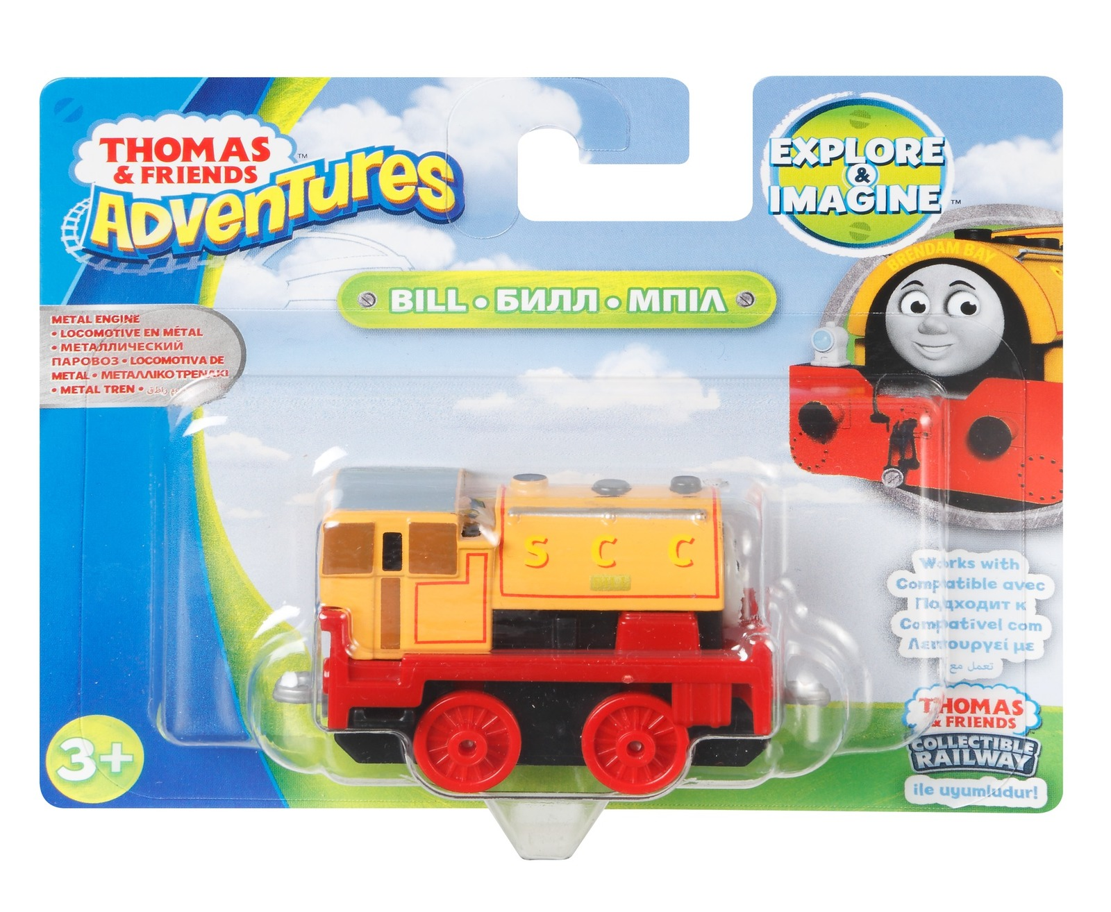Thomas & Friends: Adventures Metal Engine - Bill image