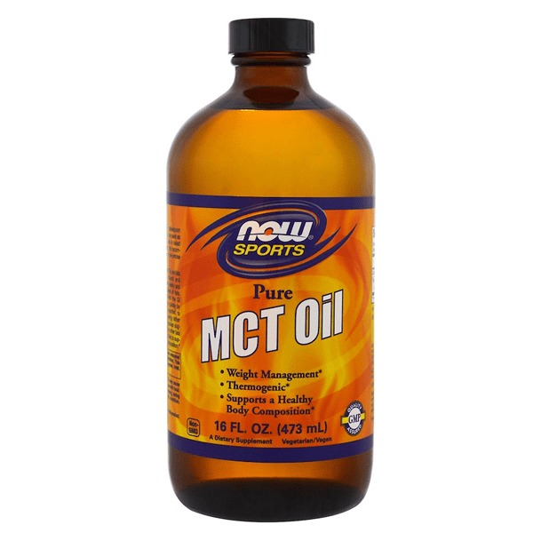 Now Foods MCT Oil 100% pure in Glass (473ml)