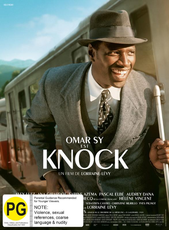 Knock on DVD