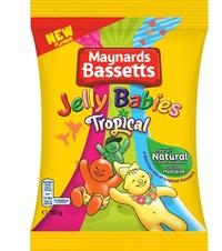 Maynards Jelly Babies Tropical 160g