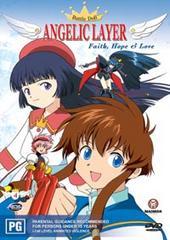 Battle Doll Angelic Layer - Volume 4: Faith, Hope & Love on DVD