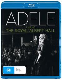 Adele - Live At The Royal Albert Hall (Blu-Ray + CD) on Blu-ray