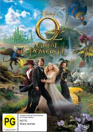 Oz: The Great And Powerful DVD