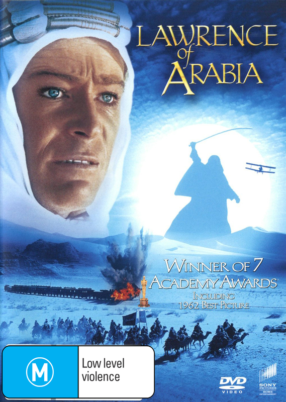 Lawrence Of Arabia on DVD