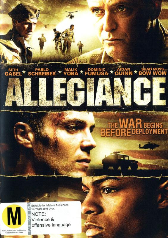 Allegiance on DVD