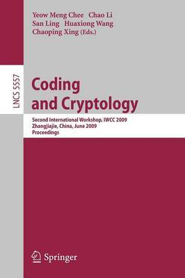 Coding and Cryptology image