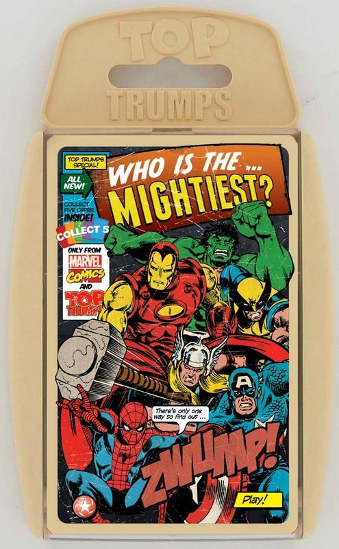 Top Trumps - Marvel Comics Retro