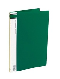 FM A4 10 Pocket Display Book - Green