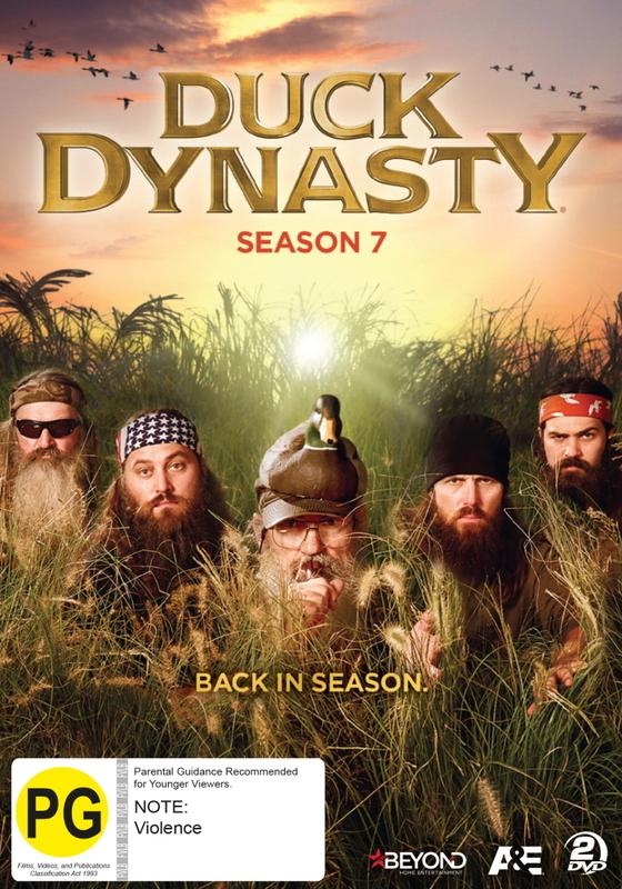 Duck Dynasty - Season Seven on DVD