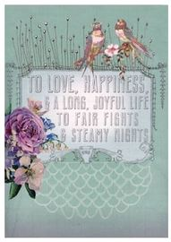 Papaya Love Card - Wedding Wish