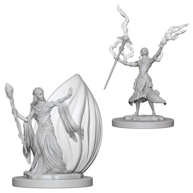 D&D Nolzur's Marvelous: Unpainted Minis - Elf Female Wizard