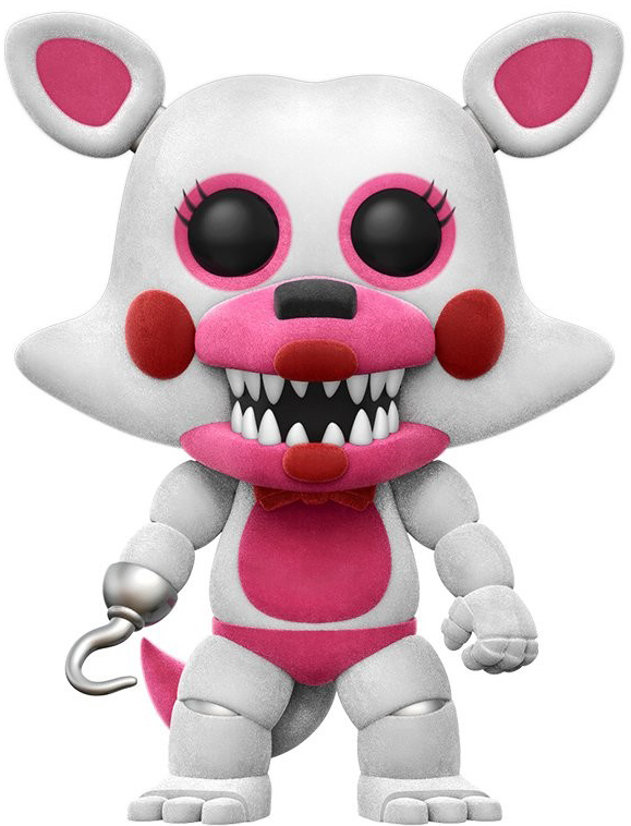 Five Nights at Freddy's - Funtime Foxy (Flocked) Pop! Vinyl Figure