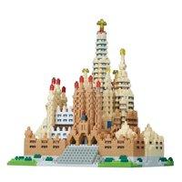 nanoblock: Free-Build Series - Deluxe Sagrada Familia