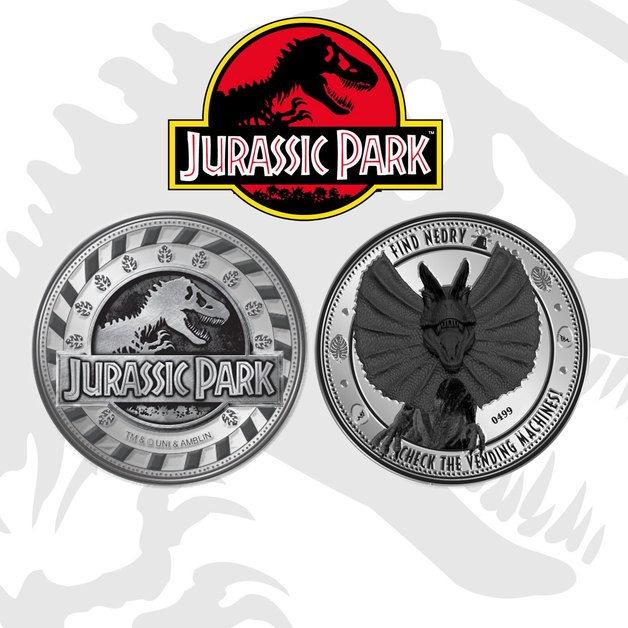 Jurassic Park: Collectable Coin - Jurassic Park
