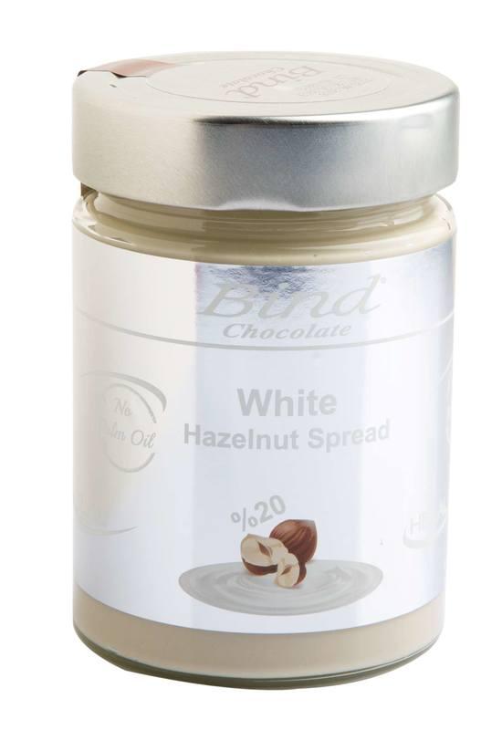 Bind Chocolates: White Hazelnut Spread (350g)