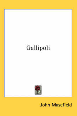 Gallipoli by John Masefield image
