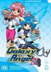 Galaxy Angel Z - Vol 01:  Back For Seconds on DVD