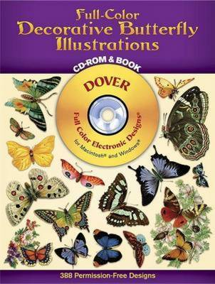 Decorative Butterfly Illustrations by Dover image