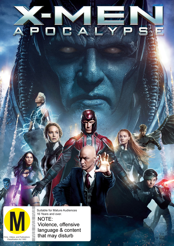X-Men Apocalypse on DVD