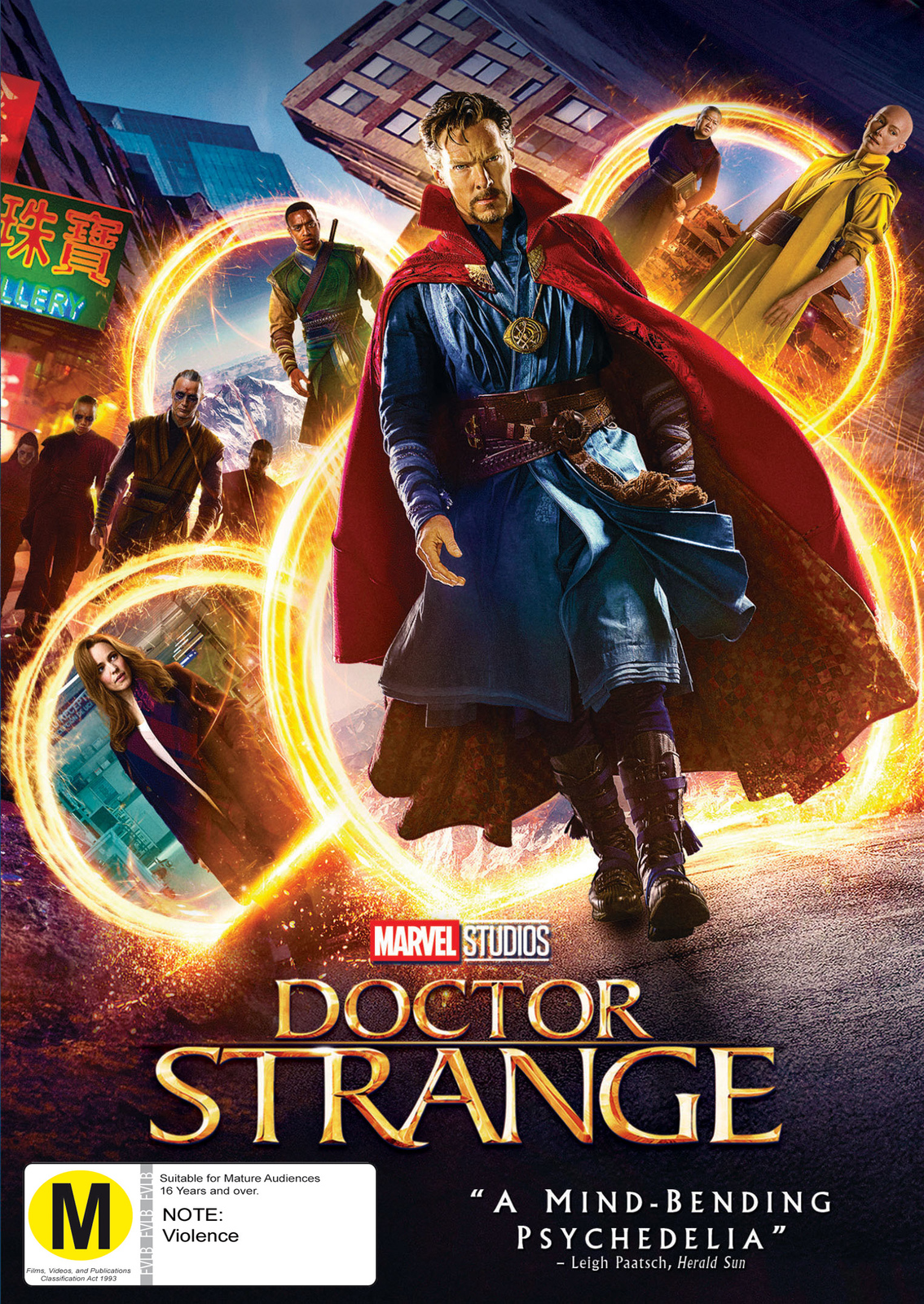 Doctor Strange on DVD image