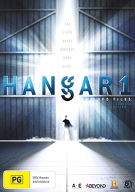 Hangar 1: The UFO Files - Collector's Edition on DVD