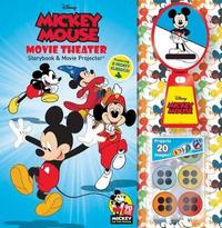 Disney Mickey Mouse 90th Anniversary Storybook & Movie Projector by Barbara Layman