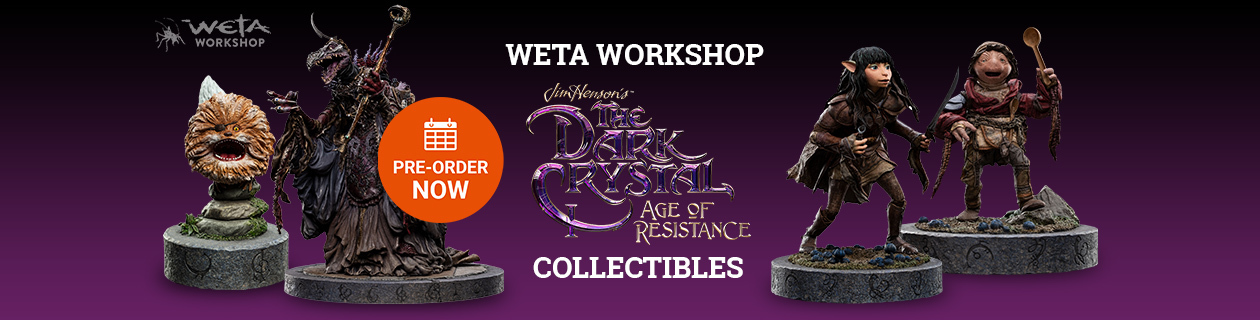 New Dark Crystal: Age of Resistance from Weta