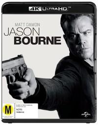 Jason Bourne on Blu-ray, UHD Blu-ray