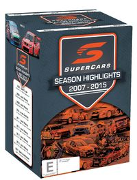 Supercars Championship Series Highlights 2007-2016 on DVD image