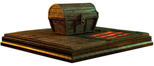 "Dark Souls: Mimic Chest - 5"" Companion Statue"