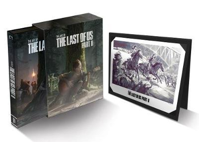 The Art Of The Last Of Us Part II - Deluxe Edition by Naughty Dog Naughty Dog