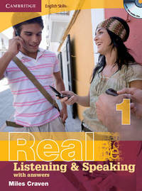 Cambridge English Skills Real Listening and Speaking 1 with Answers and Audio CD: Level 1 by Miles Craven image