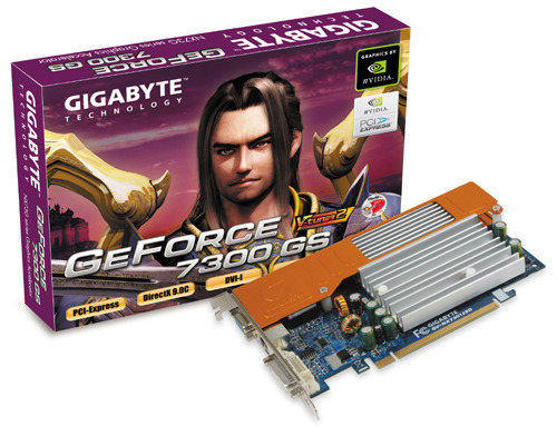 Gigabyte GB 7300GS  128MB     PCIE