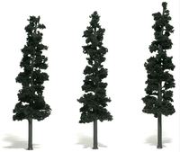 Woodland Scenics Conifer Green Pines (3 pack Large)