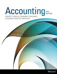Accounting 9E Binder Ready Version by John Hoggett