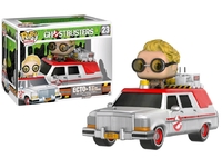Ghostbusters - Jillian Holtzmann & Ecto-1 Pop! Vinyl Vehicle