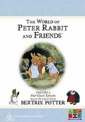 Beatrix Potter - The World of Peter Rabbit and Friends - Volume 2 (Four Classic Episodes) on DVD