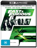 Fast & Furious 6 on Blu-ray, UHD Blu-ray