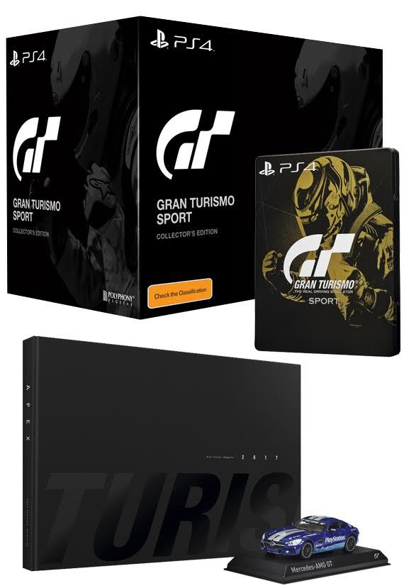 gran turismo sport collector 39 s edition ps4 buy now at mighty ape australia. Black Bedroom Furniture Sets. Home Design Ideas