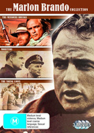 The Marlon Brando Collection - Missouri Breaks / Morituri / Young Lions (3 Disc Set) DVD