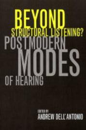 Beyond Structural Listening? image